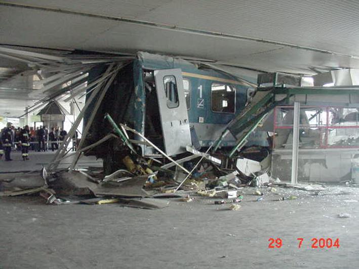 A Budapest Déli pályaudvari baleset 2004-ben