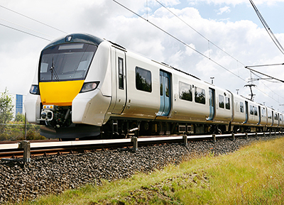 Desiro-City-Züge für Thameslink-Strecke in London / Desiro City trains for the Thameslink route in London